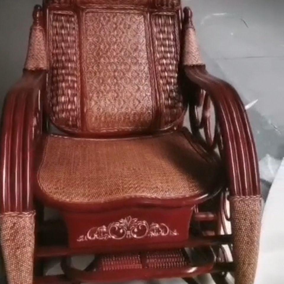302孔雀大摇椅