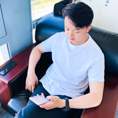 9097/夏季防臭T恤跑步健身弹力薄款白T恤户外运动短袖圆领抗菌防臭衫