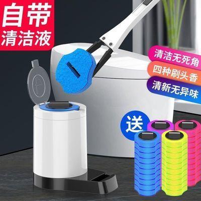 74356/一次性马桶刷套装洗厕所刷子多功能清洁刷无死角家用卫生间用品