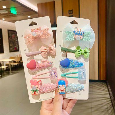 24887/日韩ins夏季海洋系海星发夹套装 儿童发夹发饰女童可爱后脑勺发卡