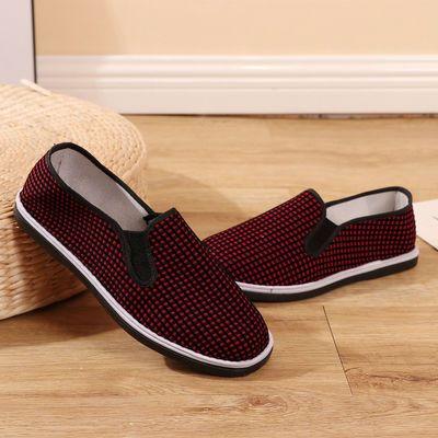 16257/2021新款老北京布鞋女鞋春季低帮帆布鞋休闲复古轻便老年人