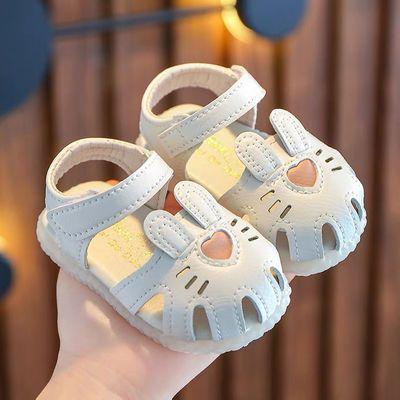 56832/夏季女宝宝凉鞋婴儿软底学步鞋子1-2岁小童鞋公主鞋女童幼儿包头0