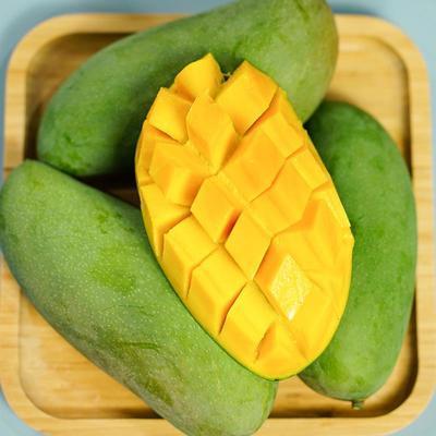 越南大青芒玉芒果水果新鲜特大芒果当季青芒果水仙芒整箱金煌芒果