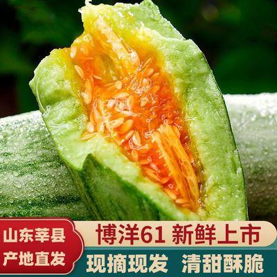 现摘博洋61山东羊角蜜甜瓜1斤3斤5斤新鲜水果当季脆甜小香瓜整箱