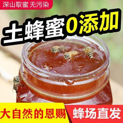 正宗土蜂蜜深山野生农家自产自销蜂场直发天然纯正百花洋槐枣花蜜