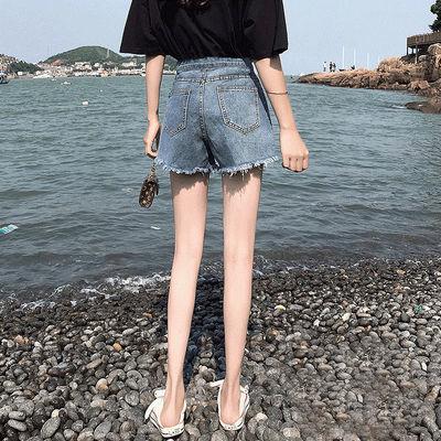 37668/米度丽孕妇牛仔短裤宽松打底裤子薄款孕妇短裤女夏外穿时尚孕妇装