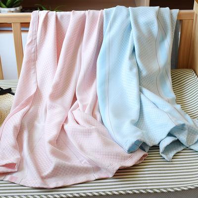 22082/婴儿竹纤维盖毯毛巾被冰丝毯新生儿童宝宝夏季薄幼儿园午睡空调毯