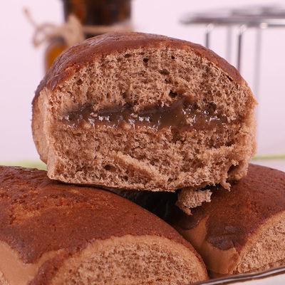 爆浆夹心脏脏包半切片吐司面包早餐饱腹代餐酸奶糕点心零食大礼包