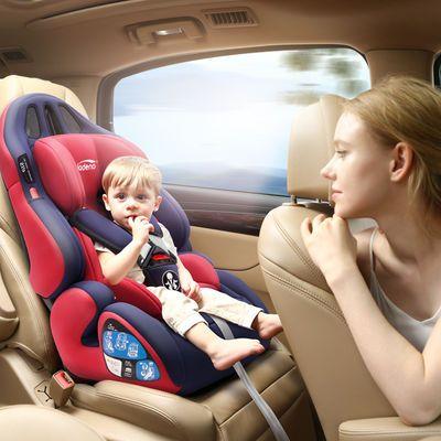 32275/儿童安全座椅汽车通用简易便携式宝宝车载婴儿车上后座可坐可躺