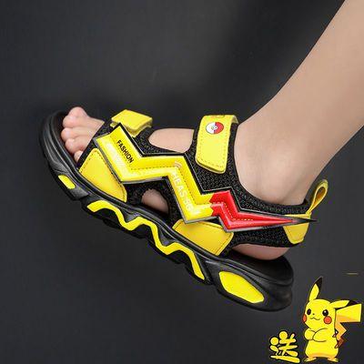 34505/男童凉鞋2021夏季新款儿童凉鞋男孩沙滩鞋中大童软底凉鞋小学生潮