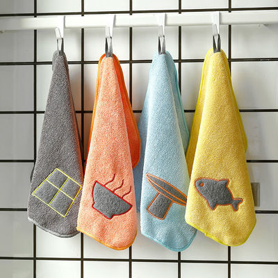 MrMax日式抹布百洁布厨房清洁擦桌擦手巾加厚吸水不掉毛洗碗巾