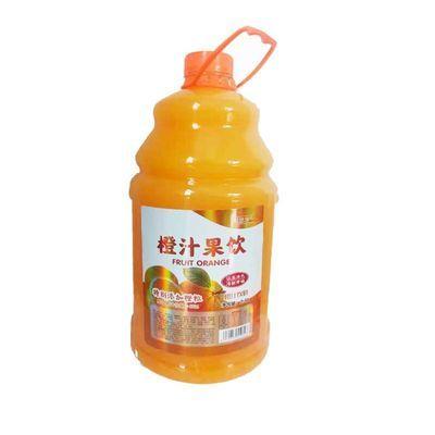 网红高颜值芒果猕猴桃橙汁百香果桃汁5斤装大桶饮料特价整箱批发