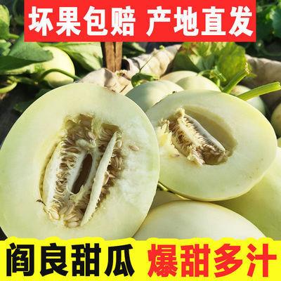 阎良甜瓜10斤陕西新鲜水果孕妇应季香瓜2斤试吃非哈密瓜整箱批发