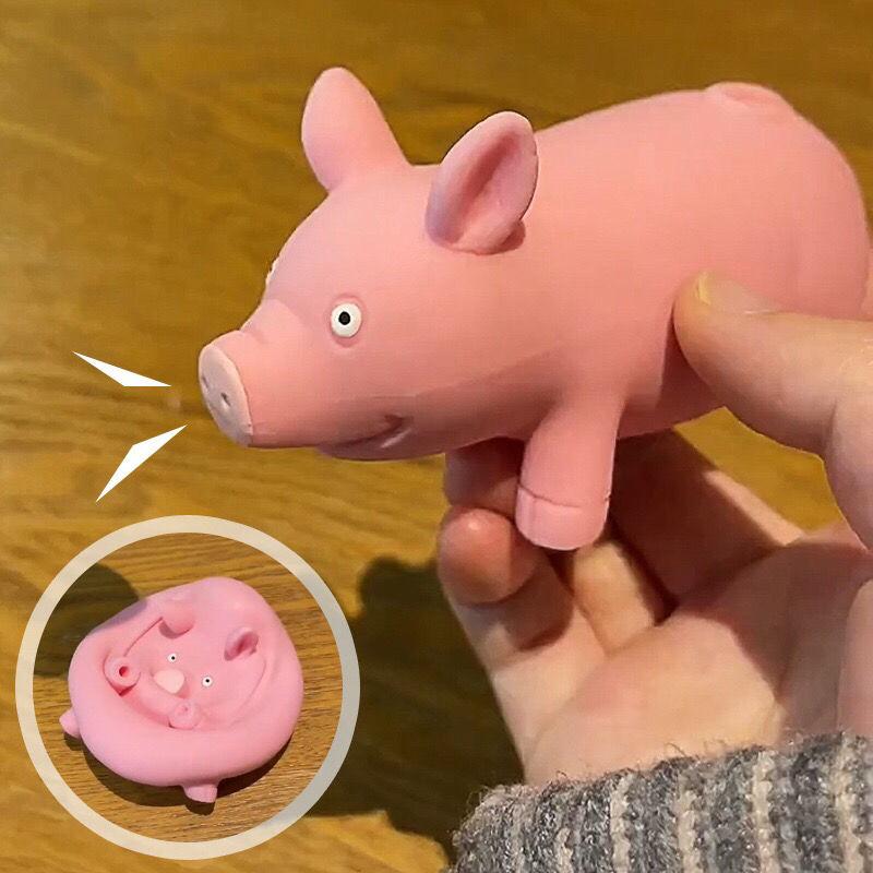 解压拍拍猪粉红猪发泄整蛊玩具拉拉猪解压