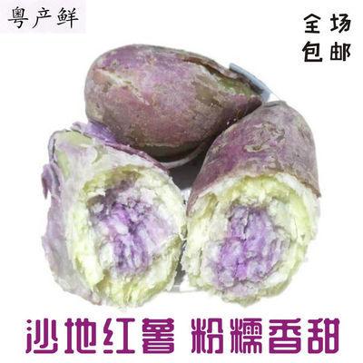 厂家直销新鲜冰淇淋红薯粉糯香健康绿色食品花心紫薯