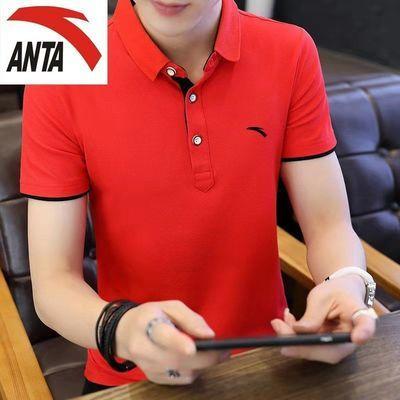 40170/男士夏季新款纯棉短袖t恤翻领上衣运动休闲poio衫韩版修身2021
