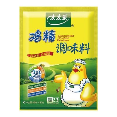 三鲜太太乐454克鸡精家庭实惠装炒菜火锅煲汤替代味精调味料