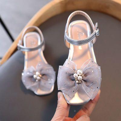 33611/女童凉鞋2021新款防滑夏季公主8岁9岁小女孩软底学生时尚沙滩鞋潮