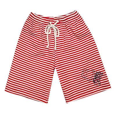 全棉童装儿童短裤女百搭条纹男童夏季外穿薄款家居小童宝宝五分裤