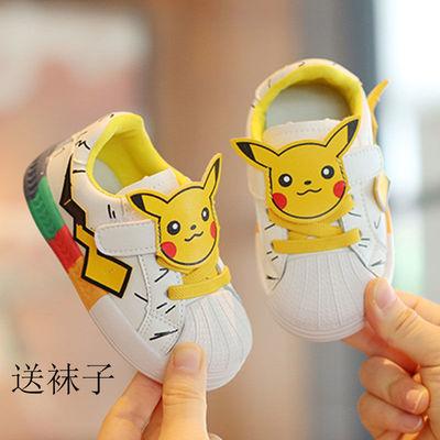 2021春夏新款0-5岁宝宝儿童鞋3可爱卡通婴儿防滑软底学步运动鞋秋