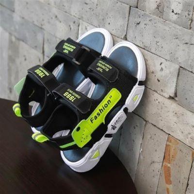 男童凉鞋女童2021新款夏季中大童橡胶防滑软底小童鞋子儿童沙滩鞋