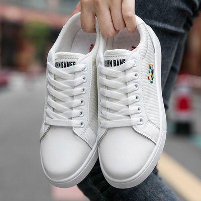 帆布鞋女低帮透气防臭2021春夏季休闲百搭ins日系韩版学生小白鞋