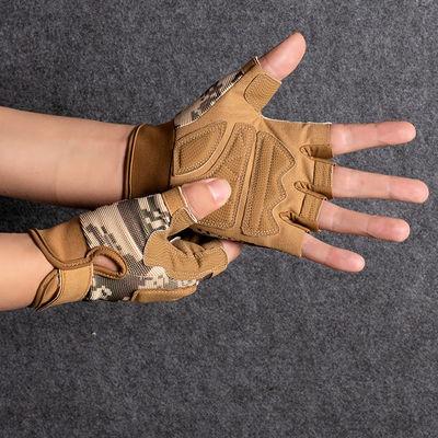 34915/运动健身手套半指男女款防滑防割耐磨器械训练军迷战术特种兵手套