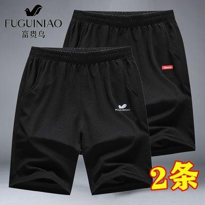 富贵鸟夏季短裤男速干薄款五分裤男士宽松运动沙滩裤休闲裤子男装