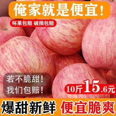 山西红富士苹果正宗新鲜水果平果整箱批发丑苹果孕妇水果脆甜3-10