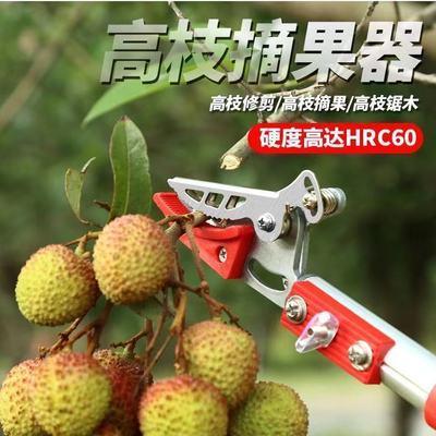 37508/摘水果香椿枇杷樱桃神器果树修枝剪刀多功能摘果剪高空加长高枝剪