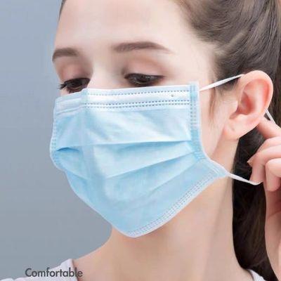 【现货秒发】一次性防护口罩透气男女通用含熔喷布三层民用口罩