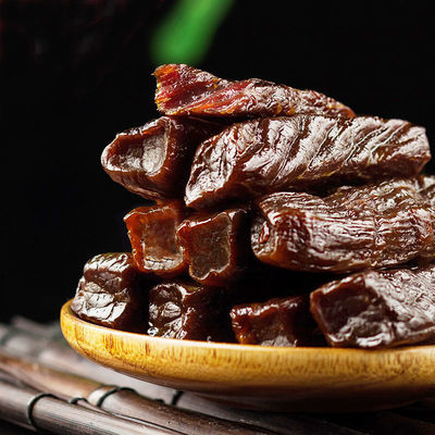 7571/真牛肉干内蒙古特产草原黄牛肉 真空独立手撕风干牛肉干香辣零食