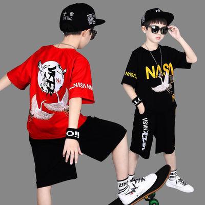 10024/男童速干衣运动套装夏装中大儿童短袖两件套小学生宽松男孩篮球服