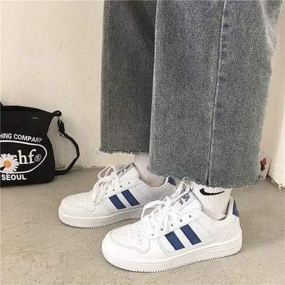 77691/Chic板鞋复古小白鞋女2021新款百搭休闲鞋港风洋气女运动鞋ins潮