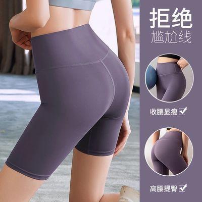39586/健身裤女夏季薄款提臀紧身高腰速干五分短裤跑步房运动套装瑜伽服
