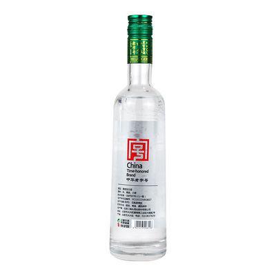 永丰牌 白酒 清香型 永丰 北京二锅头 国际版甄牛透明瓶 42度
