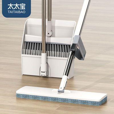 拖把家用免手洗平板拖扫把套装三件套懒人刮刮乐干湿两用吸水神器