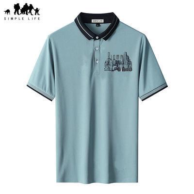 15911/SIMPLE LIFE夏季POLO衫男潮牌韩版商务休闲男士短袖T恤翻领上衣