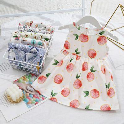 女童连衣裙2021童裙新款儿童纯棉中大童小女孩公主裙连衣裙