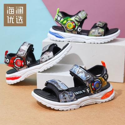 海澜优选童鞋男童凉鞋2021年新款夏季防滑沙滩鞋中大童学生舒适鞋