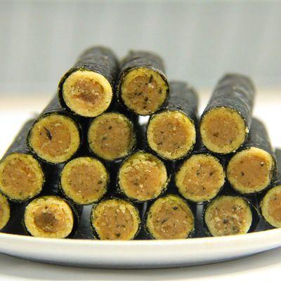 海苔夹心脆肉松海苔卷蛋卷儿童孕妇网红零食批发休闲零食学生