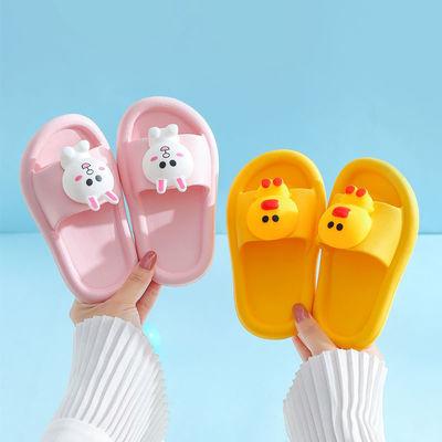 儿童拖鞋夏男童女童宝宝拖鞋可爱防滑柔软小孩大中小童亲子凉拖鞋