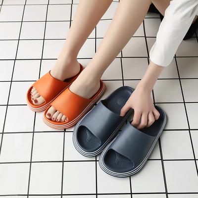 踩屎感3.0拖鞋女男夏季家用防滑浴室洗澡情侣厚底居家外穿凉拖鞋