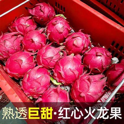 特价 当季金都蜜宝红心火龙果红肉 新鲜应季热带水果批发整箱孕妇