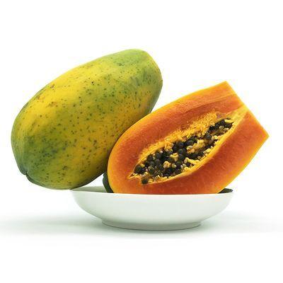 【超低价】海南三亚新鲜水果牛奶红心木瓜带箱特大青皮树上熟爆甜