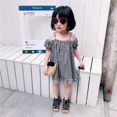 女童2021夏装连衣裙夏季新款宝宝公主裙可爱洋气爆款女孩儿童潮