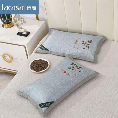 39387/夏天凉枕荞麦皮一只单人枕头荞麦枕头芯不变形一对家用枕芯枕套