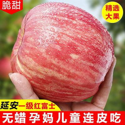 正宗陕西延安洛川红富士苹果带箱10/5斤新鲜水果现摘脆甜红富士