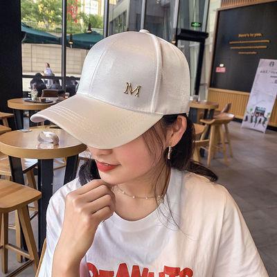 夏季新款棒球帽时尚百搭潮流遮阳防晒防风可调节显脸小透气鸭舌帽