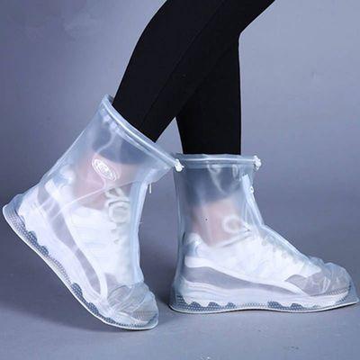 防滑耐磨加厚防水鞋套防雪防污下雨雪天男女雨鞋套带防水层雨靴套